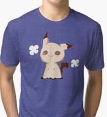 Mimikkyu - Pokemon Sun & Moon Tri-blend T-Shirt