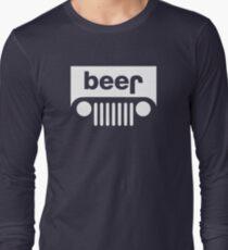 Beer Jeep Long Sleeve T-Shirt