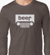 Beer Jeep Long Sleeve T-Shirt
