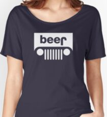 Beer Jeep Women's Relaxed Fit T-Shirt