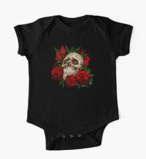 Red Rose Sugar skull Kids Clothes