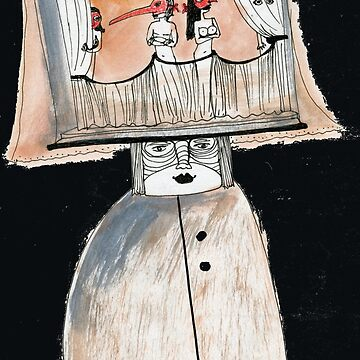 Sketchbook page ...Theater by mariannat