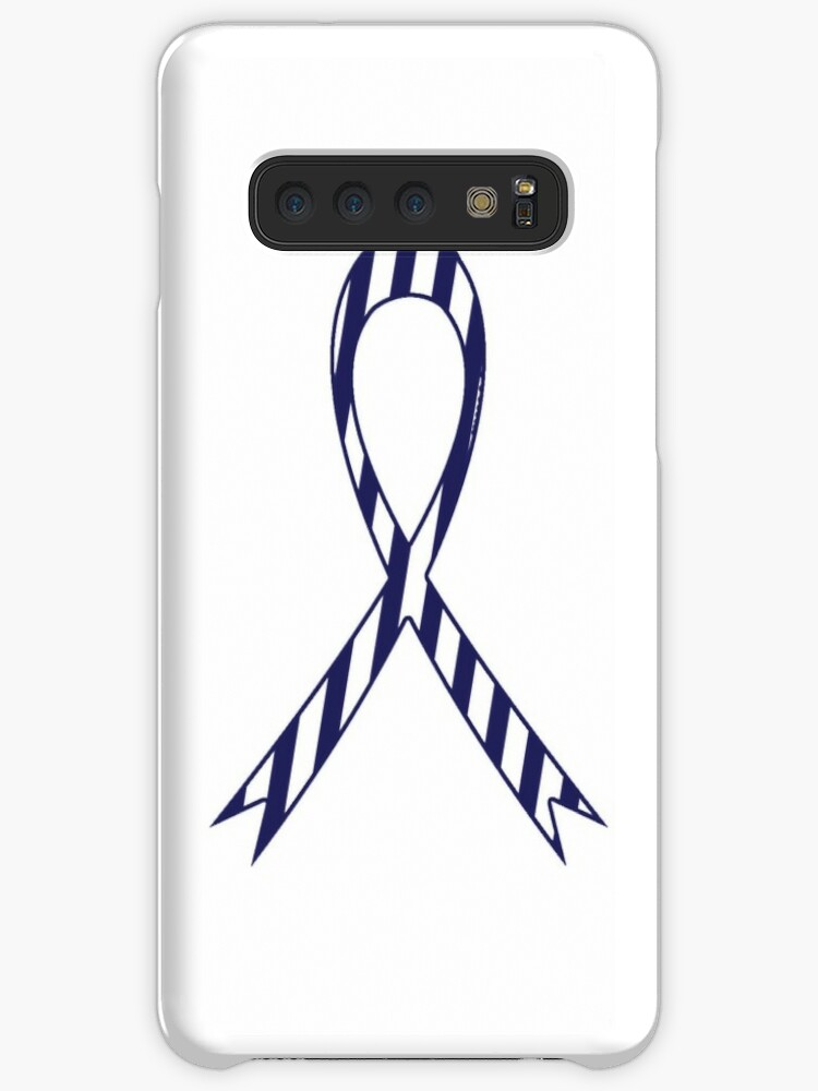 'ALS Lou Gehrig's Disease Awareness Ribbon' Case/Skin for Samsung Galaxy by  crgraphicdesign
