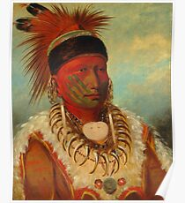 WHITE CLOUD (HEAD CHIEF OF THE IOWA) Poster