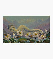 Ethereal Buddha Photographic Print