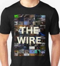 The Wire Television Poster T-Shirt