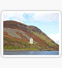 Holy Isle Outer Lighthouse Scotland Sticker