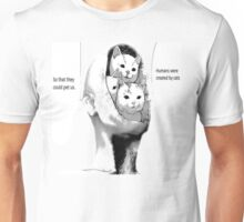 Cats are God Unisex T-Shirt