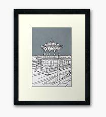 Brighton Bandstand Framed Print