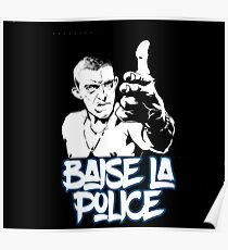 la haine the hate anti police acab movies film france french paris hip hop Poster