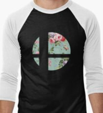 Super Smash Bros. Flora Men's Baseball ¾ T-Shirt