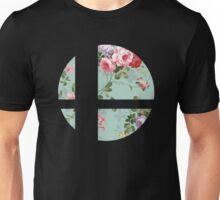 Super Smash Bros. Floral Unisex T-Shirt