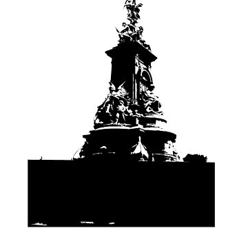 Victoria Memorial (transparent) by nattycakes