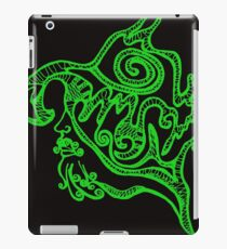 Psychedelic musketeer  iPad Case/Skin