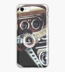 Ford Mustang Interior iPhone Case/Skin