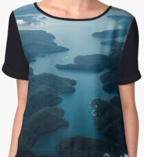 Up in the Clouds Women's Chiffon Top