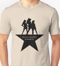 Heather, Heather, & Heather Unisex T-Shirt