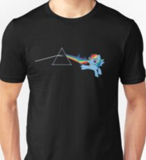 Rainbow Dash: Dark side of the moon (Brony) Unisex T-Shirt