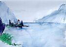 Vevey, Dusk by John Douglas