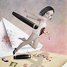Poison Pen Pal - Written In Blood by Tanya  Mayers