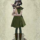 Gas Mask Girl - Grace by Tanya  Mayers