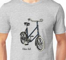 "Vintage 30s blue Bike ""biker kid"" Unisex T-Shirt"