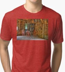 Wagon lost in storage Tri-blend T-Shirt