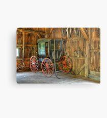 Wagon lost in storage Metal Print