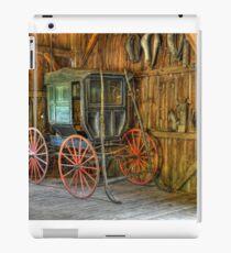 Wagon lost in storage iPad Case/Skin