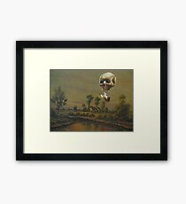 Travelling Ghost Framed Print