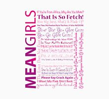 Mean Girls Best Quotes Womens Fitted T-Shirt
