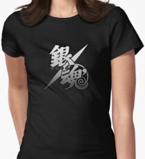 black gintama Women's Fitted T-Shirt
