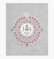 Religious symbols composition Photographic Print