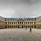 L'Hospital des Invalides, Paris, France by Neville Jones
