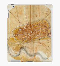 Map Of Imola 1502 iPad Case/Skin