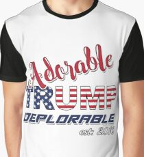 Original Adorable Deplorable | TRUMP SUPPORTER  Graphic T-Shirt