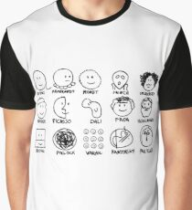 artists Graphic T-Shirt