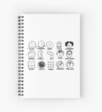artists Spiral Notebook