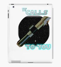 Star Wars VII The Force Lightsaber iPad Case/Skin