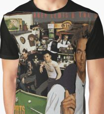 "Huey Lewis - Sports (the perfect thing for the next ""Sports"" day at work/school) Graphic T-Shirt"