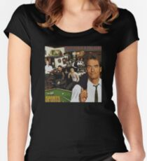 "Huey Lewis - Sports (the perfect thing for the next ""Sports"" day at work/school) Women's Fitted Scoop T-Shirt"