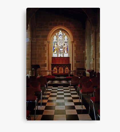 Chapel—St David's Cathedral, Hobart Canvas Print