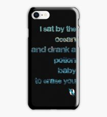 I Sat by the Ocean - Queens of the Stone Age iPhone Case/Skin