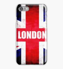 United Kingdom-London Flag iPhone Case/Skin