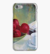 Summer apples iPhone Case/Skin