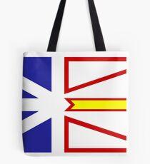 Newfoundland Flag Tote Bag