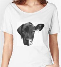 Speciesism Cow Dog Split Face Women's Relaxed Fit T-Shirt