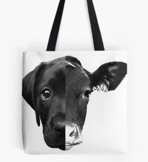 Speciesism Cow Dog Split Face Tote Bag