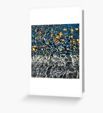 Wiggly Water Greeting Card