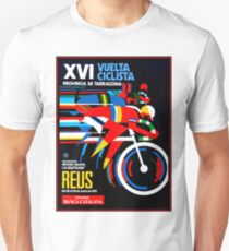 VUELTA CICLISTA; VintageBicycle Racing Advertising Print Unisex T-Shirt